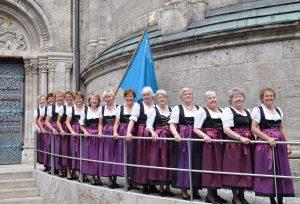 Frauenbundfrauen des Zweigvereins St. Benno