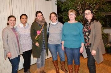 Gruppe Junge Frauen