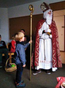 Eltern-Kind-Gruppe - Besuch vom Nikolaus